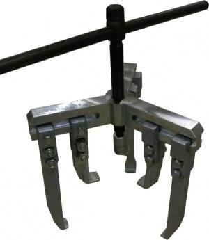 БРК 6522.09.000 - Съемник с 3-мя комплектами захватов для снятия роликоподшипников, их внутренних и наружных колец, зубчатых шестерен и фланцев